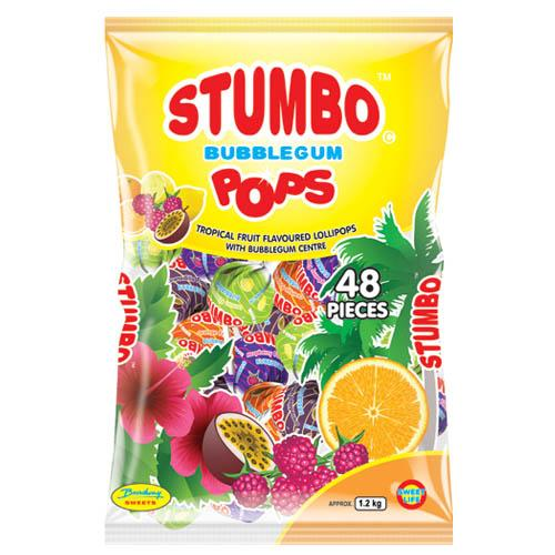 Stumbo Pops Tropical Fruit 48's