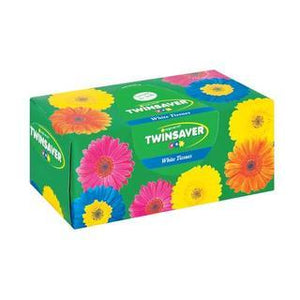 Twinsaver Facial Tissue White 180ea - Buy Groceries Online