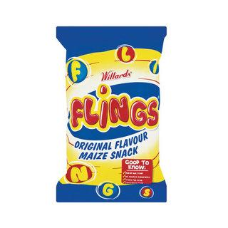 Willards Flings Original Maize Snack 150g - Buy Groceries Online