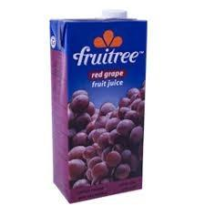 Fruitree Red Grape 1L - Buy Groceries Online