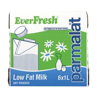 Everfresh Milk Low Fat 1 L x 6