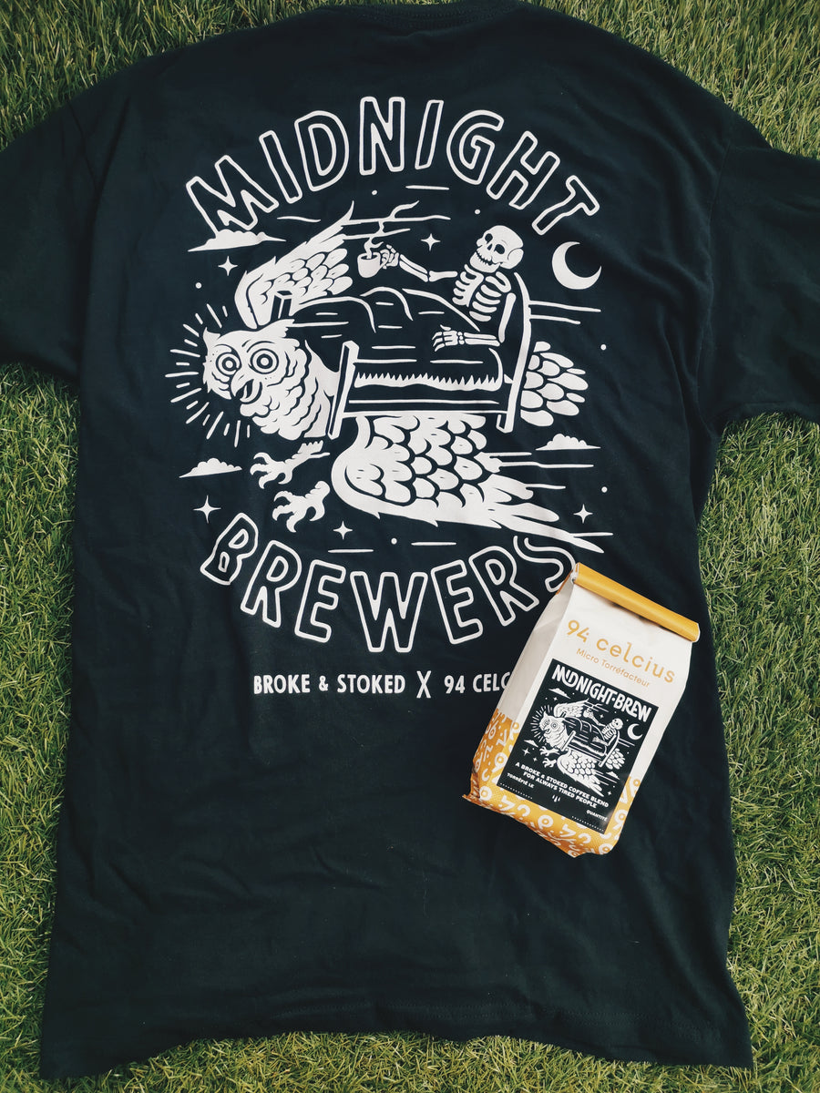 Duo Midnight Brewer Tshirt + Café