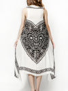 HEART pareo dress