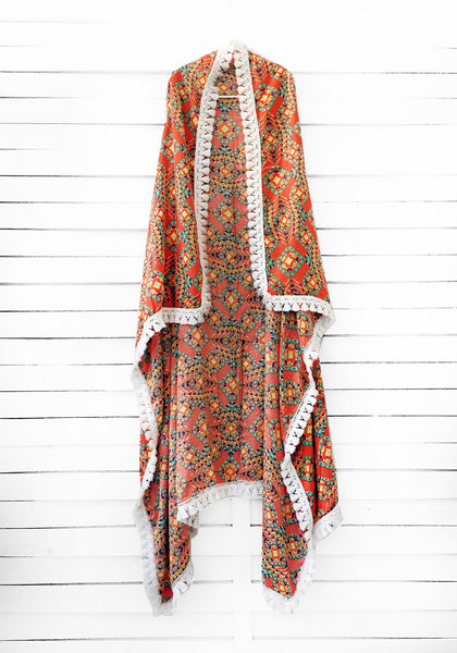 TEQUILA SUNRISE duster vest