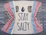 STAY SALTY duster vest
