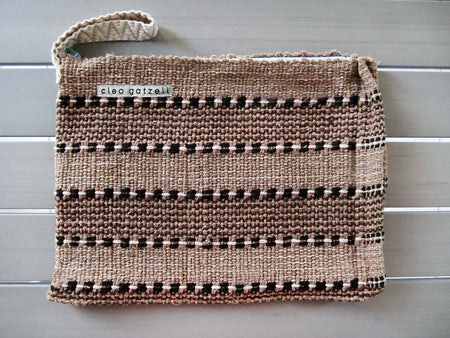 SPLASH - checks clutch bag