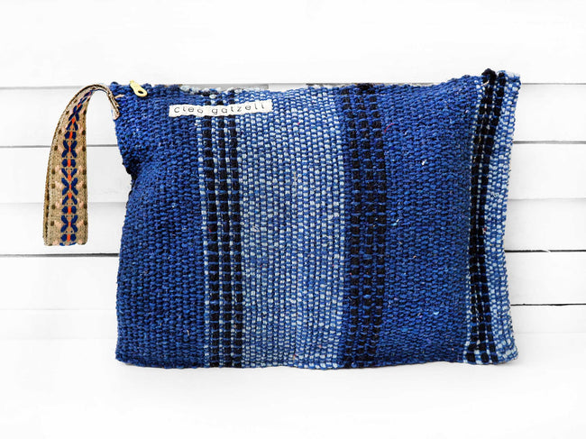 SPLASH - TRIPLE VERTICAL clutch bag