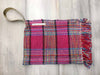 SPLASH - tartan clutch bag