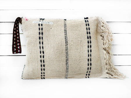 SPLISH SPLASH - faded stripes clutch bag