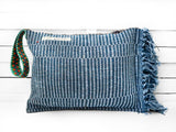 SPLASH - jeans clutch bag