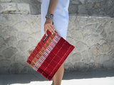 SPLASH - kenya clutch bag