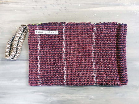 BUKHARA terry clutch bag