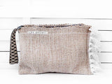 SPLISH SPLASH - solid clutch bag