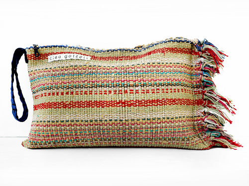 SPLISH SPLASH - peruvia clutch bag