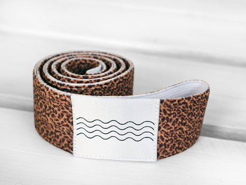 BOHOHOLIC -LEOPARD- beach bed elastic band
