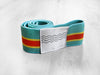 BOHOHOLIC - 80's STRIPES waist elastic band