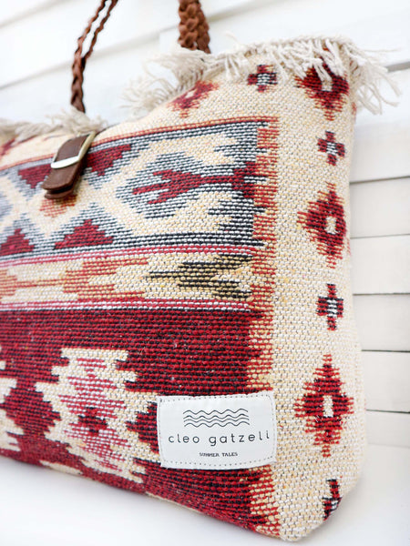 CARAVAN - tapestry shoulder bag