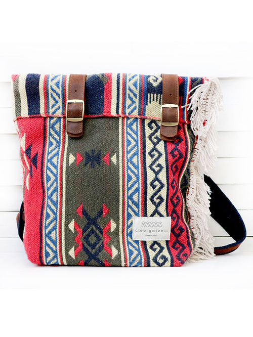 CARAVAN - carpet backpack