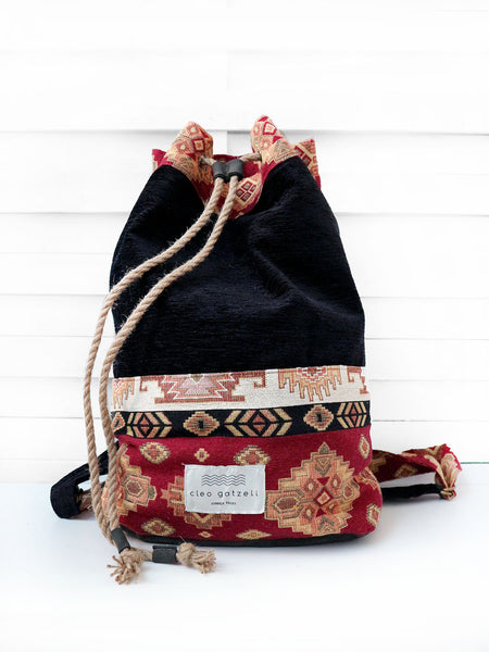 PILGRIM - brocade backpack