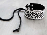 CHARMER- TRIBAL arm & ankle bracelet, 3cm