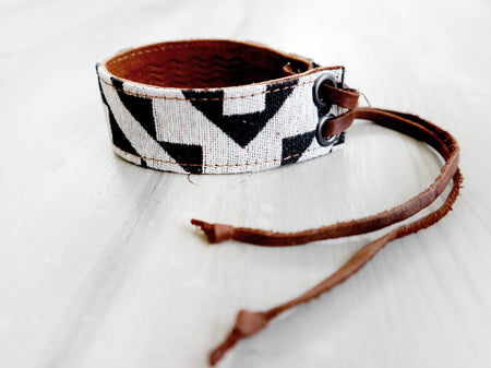 CHARMER - BOHO STRIPES arm & ankle bracelet