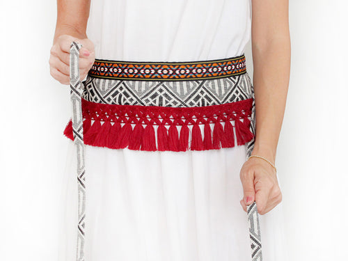 CHERRY TRIBAL waist charm