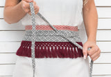 BORDEAUX CELLS waist charm