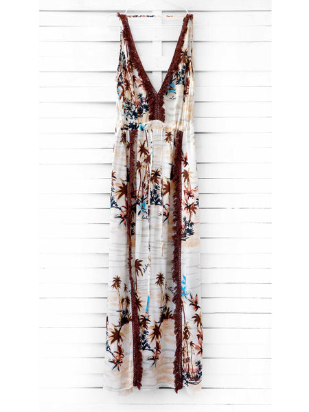 SUMMER BLOSSOM pareo dress