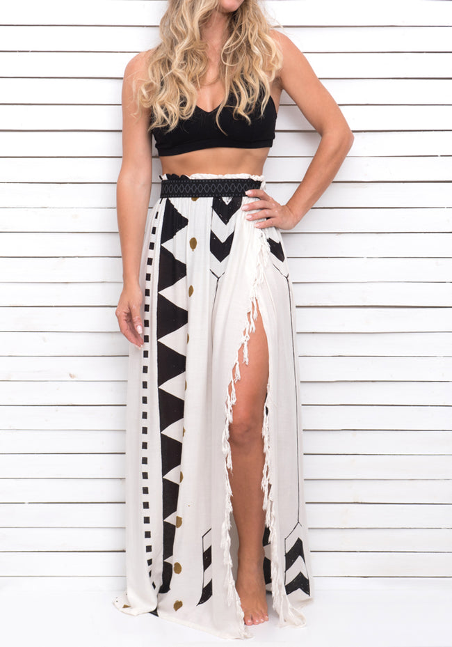 HIGH TIDE maxi skirt