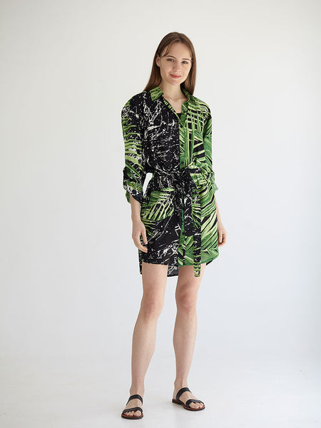PALMA boyfriend shirt dress