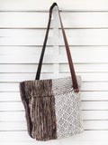 SAFARI - WHITE BLOCK cross body bag