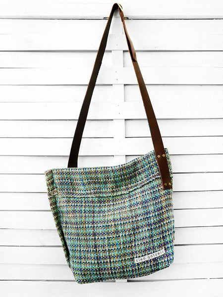 SAFARI - MELANGE STRIPES cross body bag
