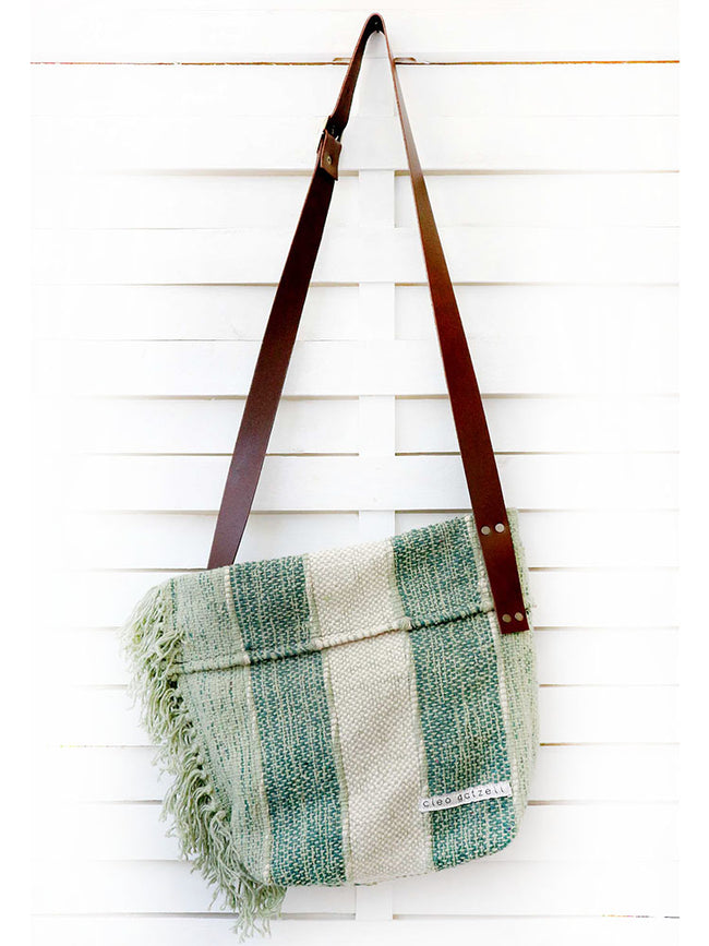 SAFARI - VERTCAL STRIPES cross body bag