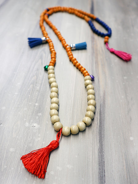 HAPPY MALA boho pendant