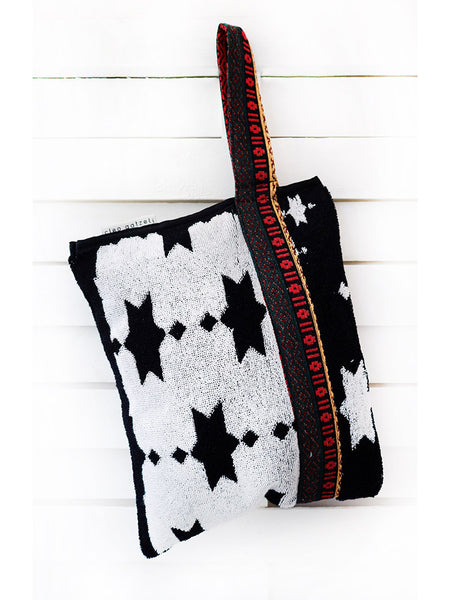 MONARCH - terry clutch bag