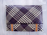 COCONUT - CHECKS straw clutch