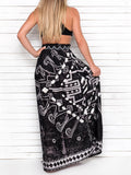QUEEN OF TRIBE maxi skirt