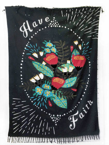 HAVE FAITH pareo sarong