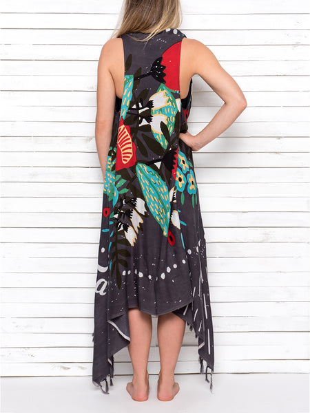 MEXICANA pareo dress