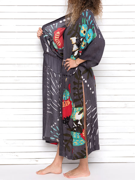 HAVE FAITH beach robe