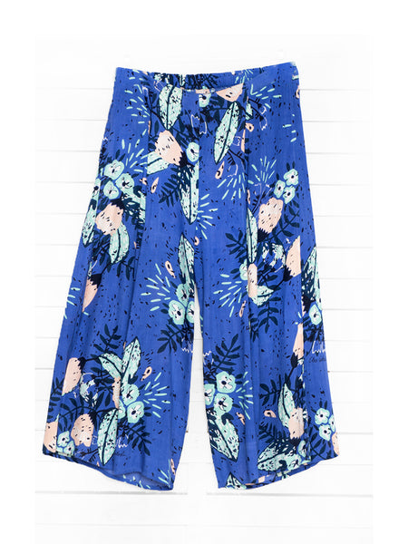SUMMER BLOSSOM cropped pants