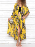 SUMMER BLOSSOM beach robe