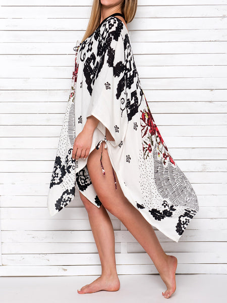 MEXICANA kimono with strings