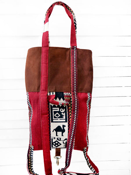 SHOPPER tote backpack