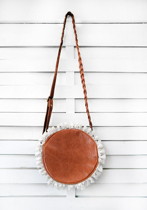 ROUNDIE FRINGES - cross body bag