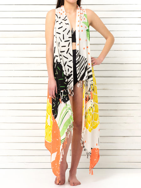 PINACOLADA pareo dress