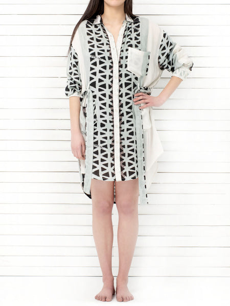 NISSI boyfriend shirt dress