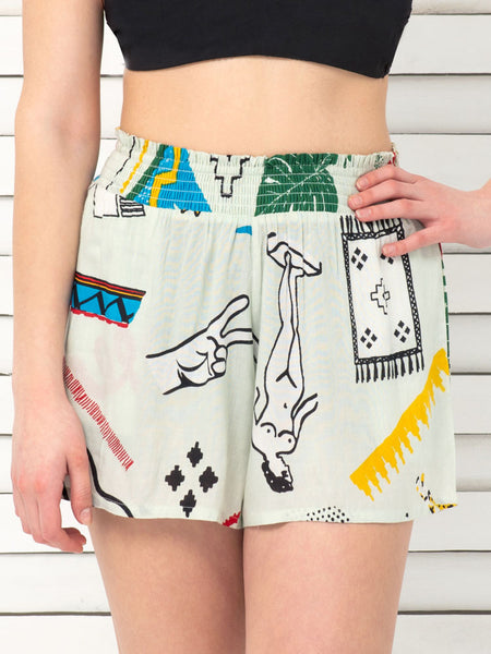 90's NATIVE shorts