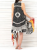 AFRICULT pareo dress
