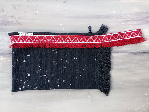 SUMMER NIGHT terry clutch bag